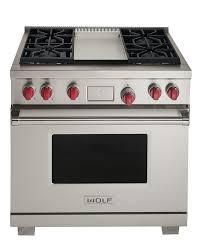 wolf icbdf364g range cooker dual fuel