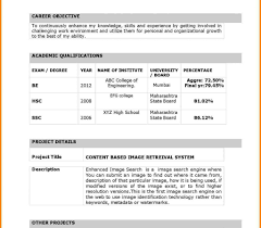 Resume Samples For Freshers Mechanical Engineers Free Download Latest Resume Format Forshers In India Electronics And 79