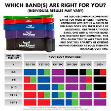 Unique Fitness Concepts Resistance Bands 5 Piece Set W Bag Exercise Guide Sku Ufc Pullupband Set