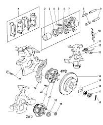 2002 dodge durango brakes front