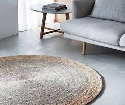 armadillo decorator rug round
