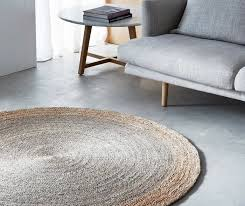 armadillo decorator rug round