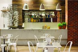 From: Clean and Modern Cafe with Home Style Design  Capital Kitchen