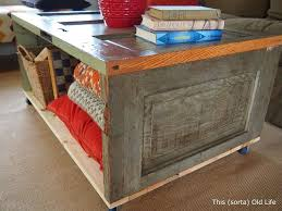 15 diy coffee tables from the rustic to