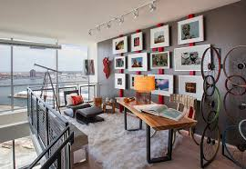 loft home office. Baltimore Condo Loft Industrial-home-office Home Office O