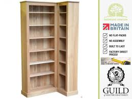 Oak Corner Shelving Furniture home traditional solid oak two hundred and five tall for 20