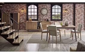 Hesperia Esszimmer Set Ausziehbarer Tisch Mit 6 Stühlen