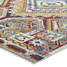aztec area rug distressed southwestern area rug in multicolored aztec area rug target