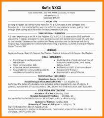 8 Registered Nurse Resume Sample Wsl Loyd