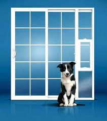 fearsome insulated patio dog door dog doors for sliding glass doors patio door with pet built in maxseal insulated patio pet door
