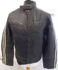 mission men s cafe racer motorcycle leather jacket