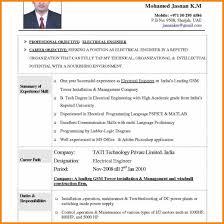 6 Engineering Resume Format Free Download Intern Resume