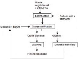 Biodiesel Production Chart Biodiesel Production Flow Chart Based On The Experiments