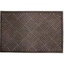 <b>Коврик придверный apache mills</b>, Textures Crosshatch Walnut, 60 ...