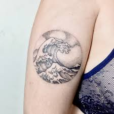 60 Sparkling Wave Tattoo Designs Tattoo Collections