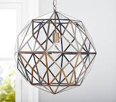 cage lighting pendants. glass u0026 metal cage pendant lighting pendants e