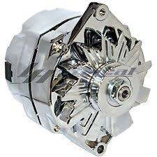 gm 3 wire alternator chrome alternator for gm c k r v 1500 2500 3500 pu van 3 wire high output 110amp