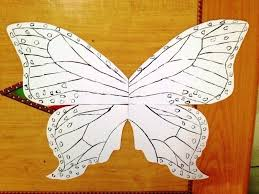 Colorful Butterfly Wall Poster How To Cut A Piece Of