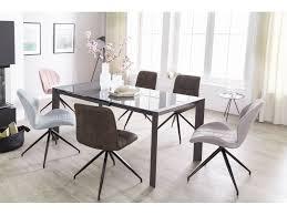Wohnling Esszimmertisch Noble 136 236 Cm Ausziehbar Küchentisch Esstisch Metall Glas