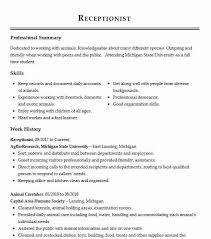 Reception Resume Eye Grabbing Receptionist Resumes Samples Livecareer