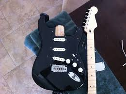 the black strat project