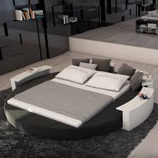 Simple Round Bed Platform Also Round Bed Design By As Wells As