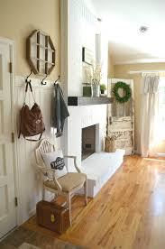 painting brick whiteHow to Paint a Brick Fireplace  Little Vintage Nest