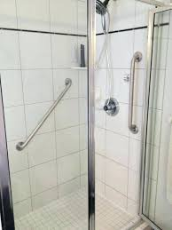 awesome shower grab bars placement on top shelf real estate advisors llc ada in the tub