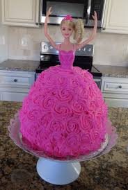 Homemade Barbie Birthday Cake Dairy Egg Free Blessed Little