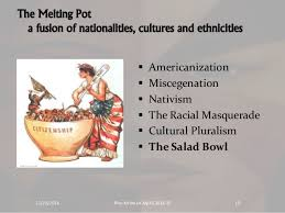 america melting pot or salad bowl essay the myth of the melting immigration and ethnicity american society fl