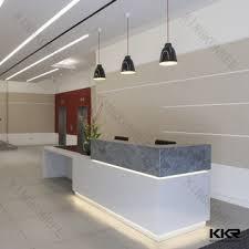 modern office reception desk. Solid Surface Modern Office Reception Desk For Restaurant Or Salon N