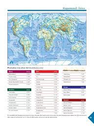 Atlas de geografia del mundo 6 grado 2020. Atlas De Geografia Universal Primaria