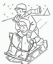 Coloring is essential to the overall development of a. Free Printable Winter Coloring Pages
