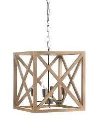 rustic wood chandelier beam diy