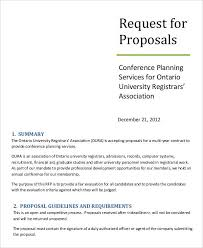 example short form request for proposal template request for proposal response template