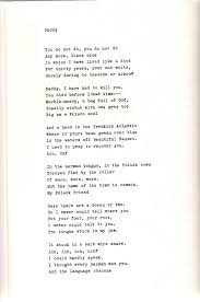 plath s ldquo daddy rdquo principles of literary study poetry plath played around alternatives like the rival and other poems and daddy and other poems images are taken from ariel the restored edition