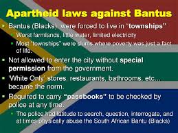 South African Apartheid From 1948 To Ppt Download