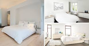 Simple White Bedroom Concept Design Custom Inspiration