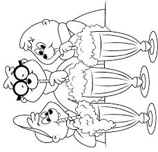 Kleurplaten En Zo Kleurplaat Van Alvin En De Chipmunks
