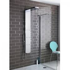 image for as345 hudson reed shimmer chrome thermostatic shower tower