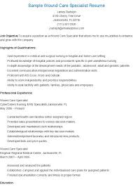 Sample Resume Public Health Nurse Ebook Database Resume Samples Sample Wound  Care Specialist Resume ...