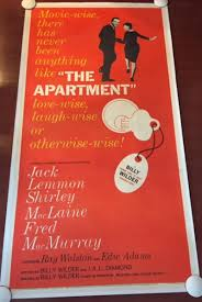 The Apartment Original 1960 Three Sheet Poster Jack Lemmon Rare