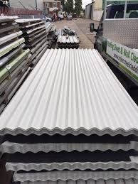 corrugated roofing sheets metal steel goosewing grey roof cladding