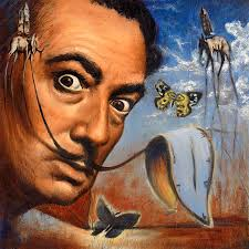 salvador dali painting salvador dali portrait by travis knight