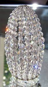 petite swarovski crystal beaded light bulb cover chandelier for brilliant household crystal light bulb covers designs