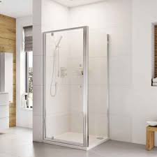 haven showers plus pivot door 800mm at rubberduck bathrooms here to now