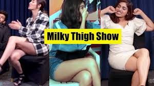 According to me samantha akkineni is the hottest telugu actress. Mini Skirt Fever Of B Town Actress Part 1 Milky Thigh And Hot Legs Youtube