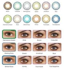 Contact Lenses Colour Chart 28 Best Color Contacts Images Colored Contacts Eye