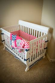 baby bedding set luxury navy and pink nautical with toddler quilt crib sets