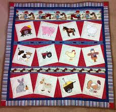 96 best Quilt Ideas - Farm Animals images on Pinterest | DIY, Book ... & Items similar to Baby Farm Animals Quilt on Etsy Adamdwight.com